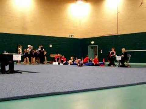 Jennifer Gardner Beginner Floor Routine - Gymnastics