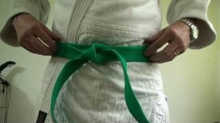 OBI How To Tie A Belt Noeud De Ceinture Simple Full HD