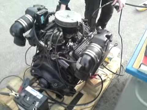 Mercury Mercruiser V6 Engine - YouTube