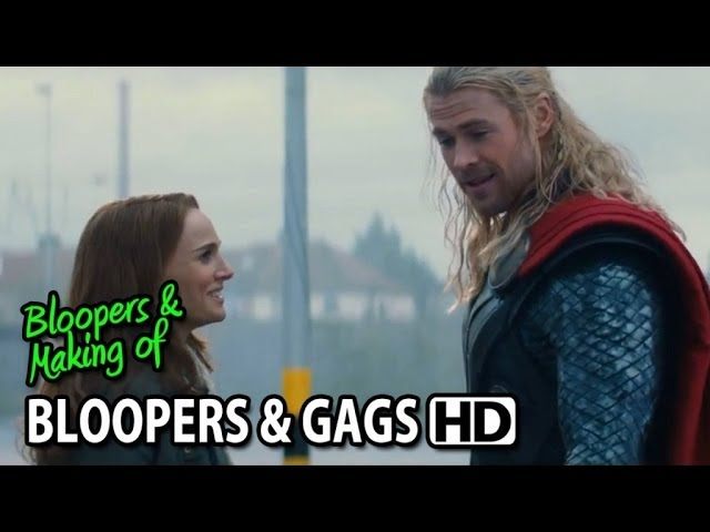 Thor: The Dark World (2013) Bloopers Outtakes Gag Reel #2