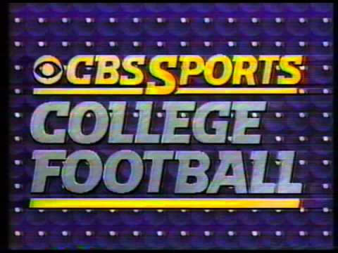 football by week cbs ncaaf