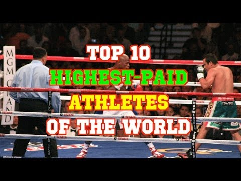 Top 10 Highest Paid Athletes of the World