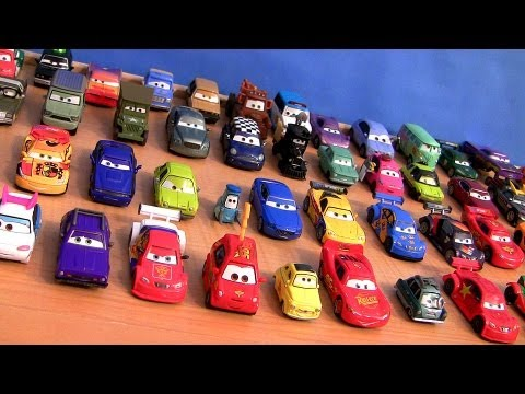 Entire Complete Cars 2 Toys Collection 55 CARS Diecast + Ultimate Chase Racers Disney Pixar 2013