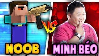 THỬ THÁCH Troll NOOB Bằng MINH BÉO Trong Minecraft!!