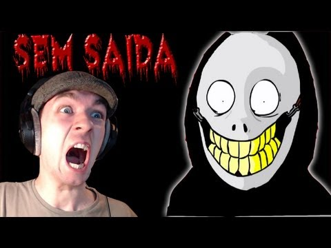 Sem Saida | BIG HAIRY SCARY MAN | Indie Horror Game | Commentary/Face cam reaction