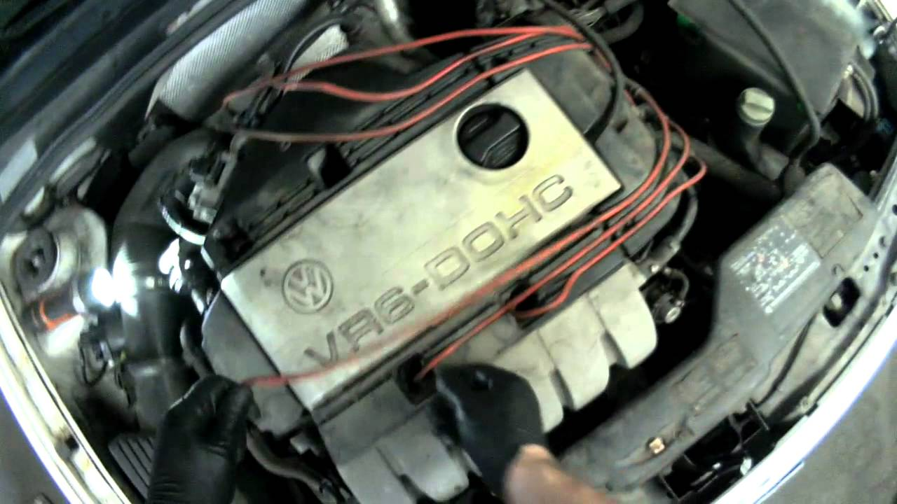 volkswagen beetle ignition wiring diagram vw a3 vr6 removing spark plug wires  amp  spark plugs youtube  vw a3 vr6 removing spark plug wires  amp  spark plugs youtube