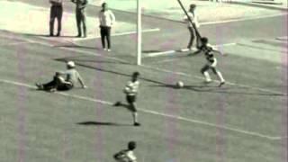 01J :: Sporting - 4 x Boavista - 1 de 1971/1972 Golo de Yazalde