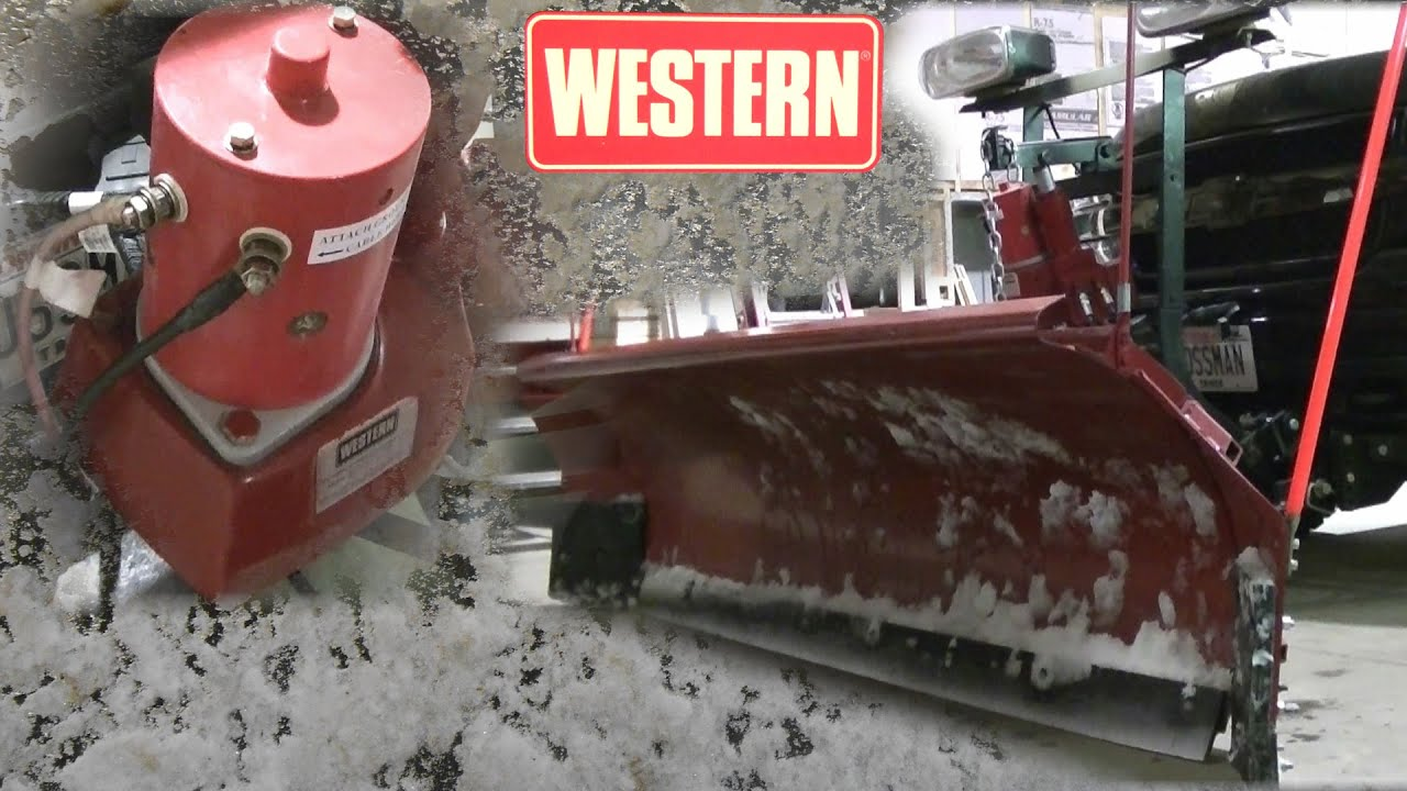 Western Unimount Snow Plow Problems Fixed - YouTube