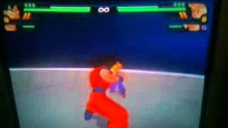 Fusión De Goku Y Vegeta Del Juego Dragon Ball Budokai