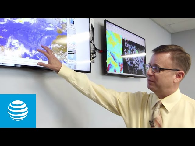 Eyes On The Storm - Inside the AT&T Weather Operations Center