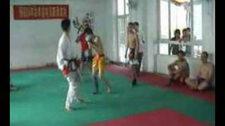 TKD Vs Muay Thai In China