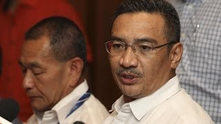 Malaysian Transport Minister on Search for Missing Flight