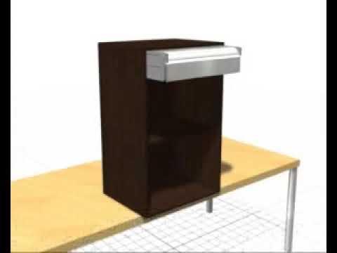 Persiana aluminio cocina