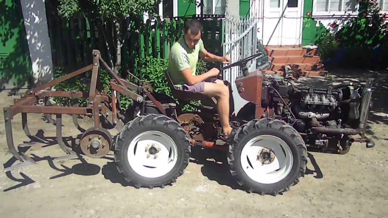 Фото самодельные трактора своими руками