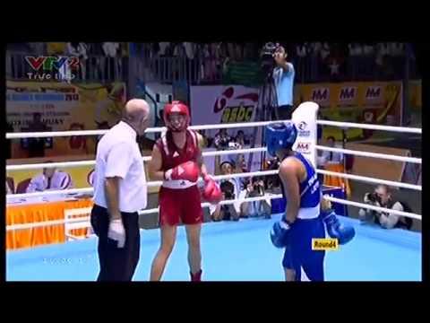 SEA Games27 Lừu Thị Duyên giành HC vàng quyền anh nữ hạng 60kg