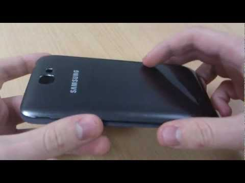 Genuine Samsung Galaxy Note 2 Case Review