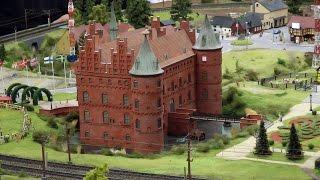 Padborg Modellbahn und Schloß Egeskov in Dänemark im Miniatur Wunderland