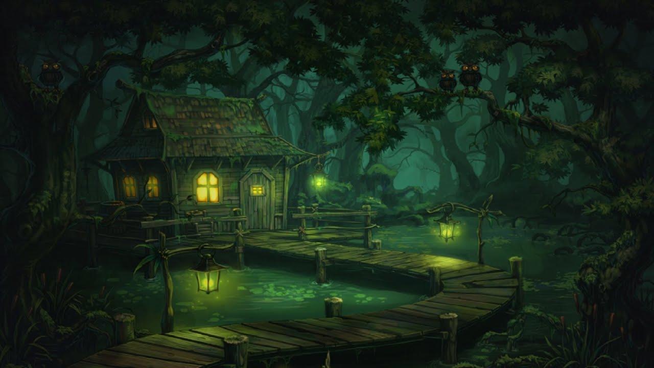 Creepy Swamp Music Murky Swamp Youtube