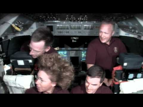 Shuttle Crews Final In Flight Interviews