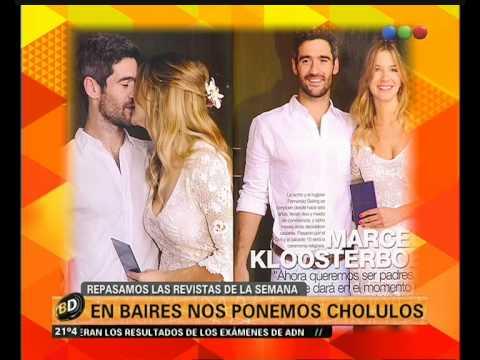 Marcela Kloosterboer y su casamiento - Telefe Noticias
