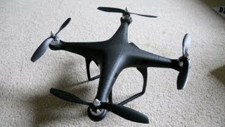DJI Phantom with FatShark PredatorV2 System - Custom Black