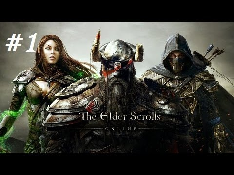 The Elder Scrolls Online (Part 1) The Aldmeri Dominion - Dark Elf Sorcerer