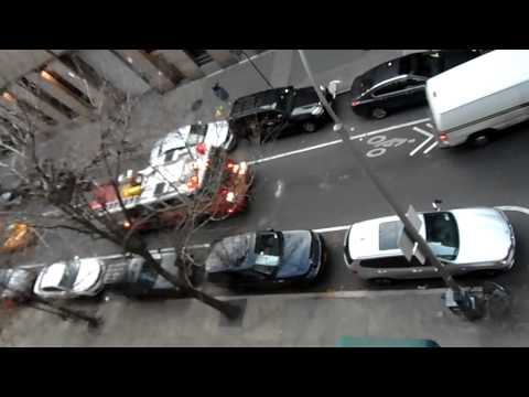New York City Fire truck responding to a call
