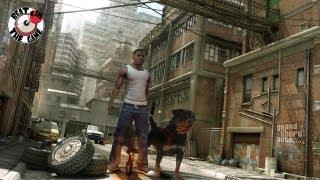 GTA V Walking The Dog Chop