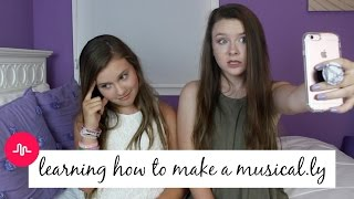 Sister Teaches Me How To Make A Musical.ly