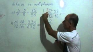 Multiplicação De Frações Com Simplificação