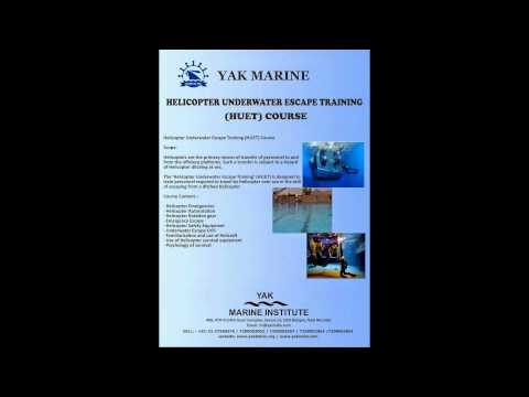 HuET (Offshore training) course MUMBAI INDIA