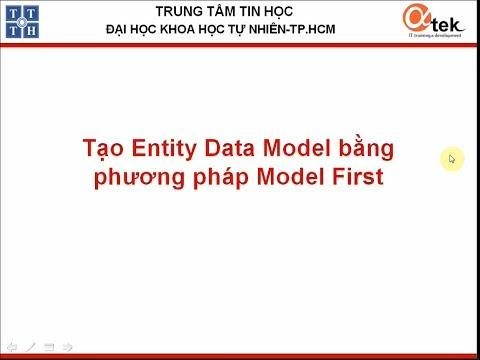 Tạo Entity data model bằng phương pháp Model First