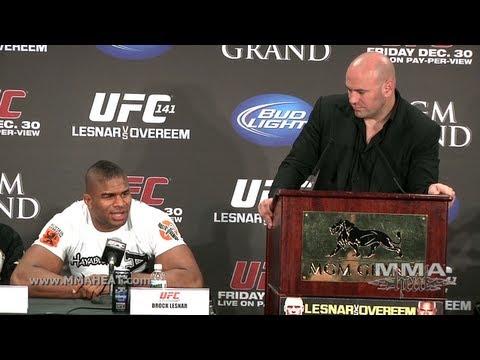 UFC 141: Lesnar vs Overeem Post-Fight Press Conference (Complete + Unedited)