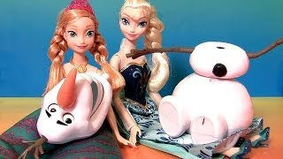 Do You Wanna Build A Snowman Olaf With Princess Anna Elsa