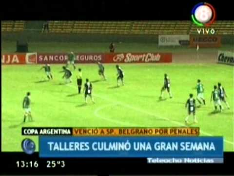Talleres (Cba) 1 (5)  - Sp. Belgrano (SF) 1 (3)