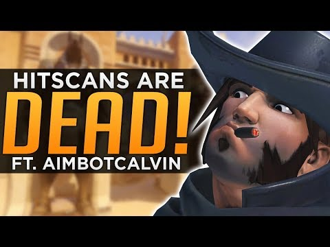 Overwatch: The DEATH of Hitscan!? - AimbotCalvin Interview