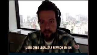 Respons�vel pelo aplicativo Uber no Brasil fala sobre atos de viol�ncia de taxistas