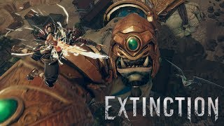 EXTINCTION - E3 2017 Gameplay Walkthrough Trailer
