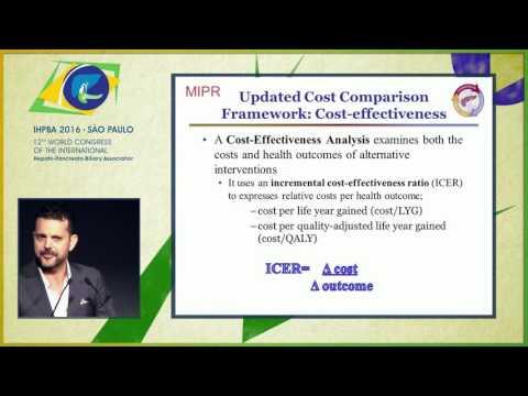 MIPR Conference: A framework for cost comparisons moving forward - Tsafrir Vanounou