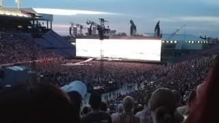 Louisville U2 concert with UPS jet