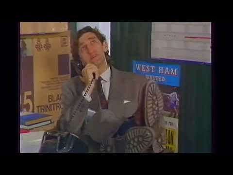Bob Hoskins - Comedy sketch. (BBC Comic Relief 1997)