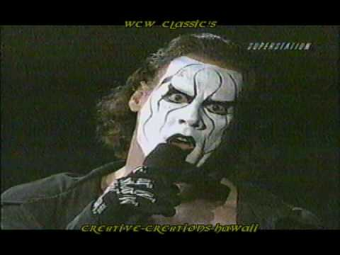 WCW Sting and Vampiro on Thunder 2000 Ring on Fire