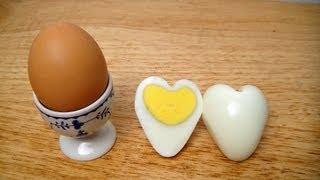 Cara Membuat Telur Berbentuk Hati