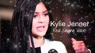 Kylie Jenner Real SINGING Voice!