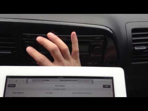 FM Transmitter for iPad 2 - iPad 2 to Car Radio Adapter