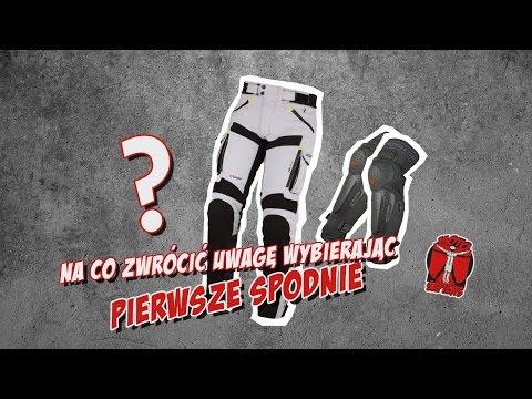 Jak wybrać pierwsze spodnie motocyklowe