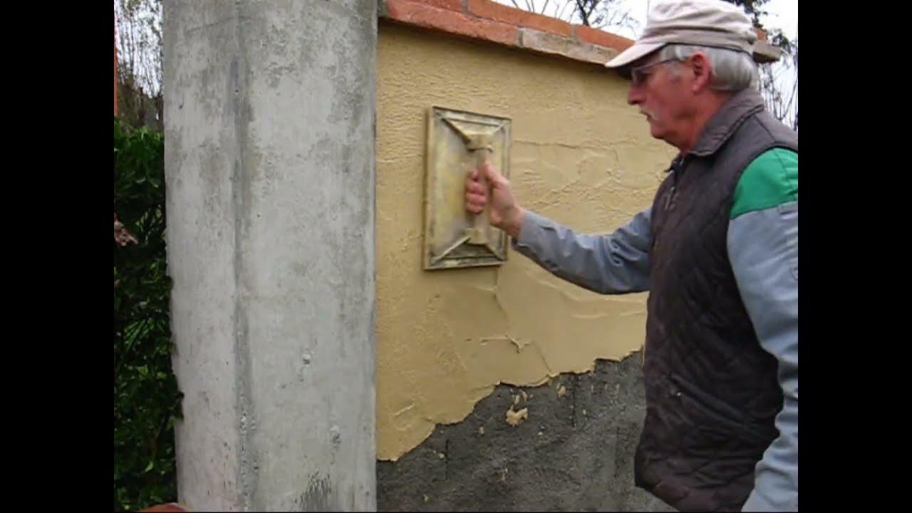 Enduit traditionnel youtube - Realiser un enduit monocouche ...