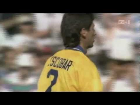 el goal qué matò Andrés Escobar