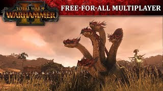 Total War: WARHAMMER II - Free-For-All Multiplayer