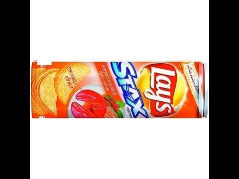 Lays Stax spicy Lobster seafood chips from Thailand review